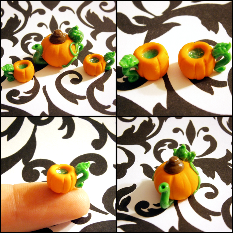 Pumpkin Close Ups by SeaOfCreations