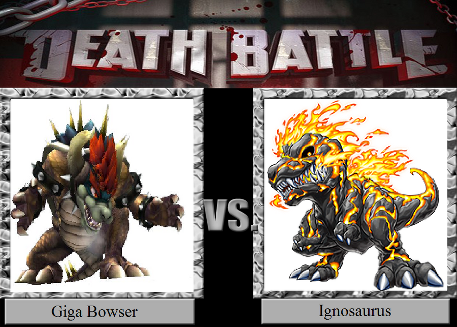 Death Battle 34: Prehistoric Flame! by HailfirePhantom