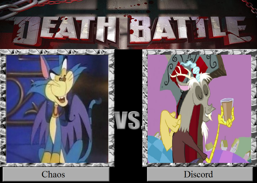 Death Battle 53: Lords of Chaos! by HailfirePhantom