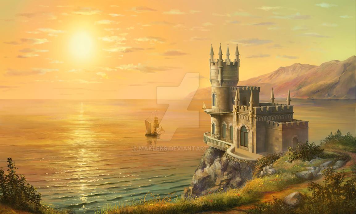 Crimea - Sunset by MakLeks