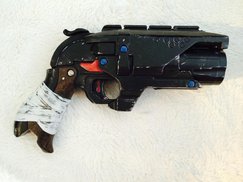 hoellenhamster 19 11 Nerf 'Aerith S.A.A' single action army Hammershot by  marqleon