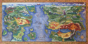 Map of the Known Pony World