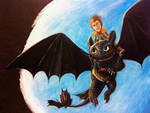 toothless and hiccup- finished