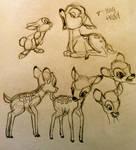 Bambi Poses