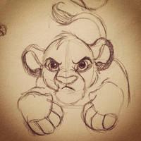 Simba by Jillybean345
