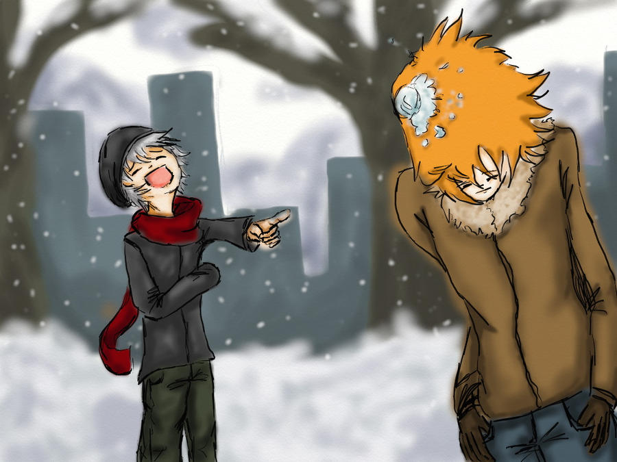 -Snow fight- by foffanoz