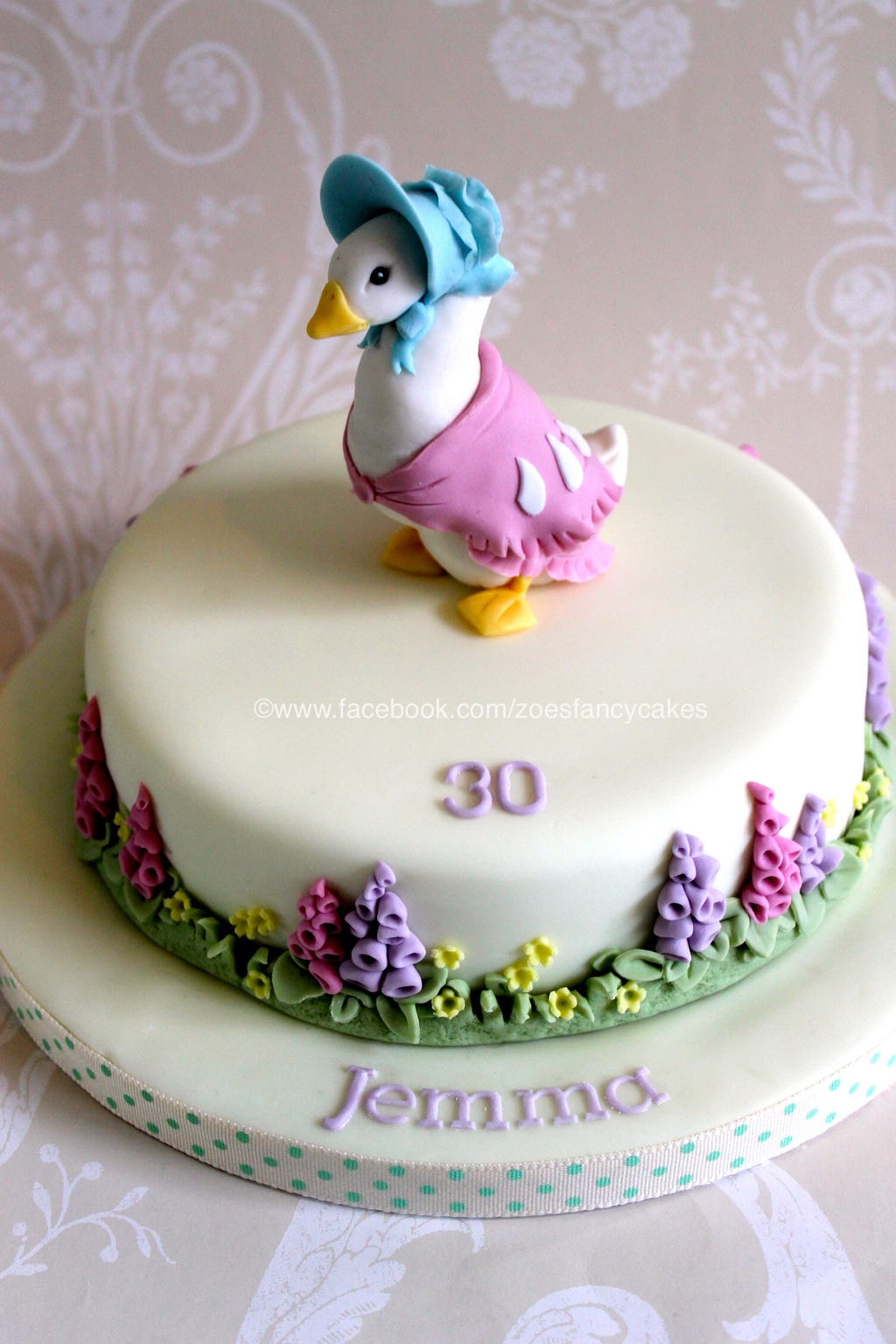 Jemima Puddle Duck Cake Topper