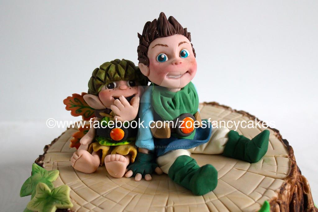 Tree Fu Tom by zoesfancycakes