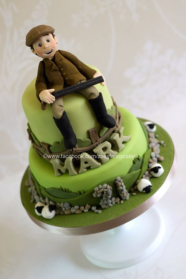 Farmer Birthday Cake By Zoesfancycakes On Deviantart