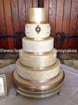 fancy decorative cake