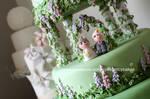 Wedding cake mini couple