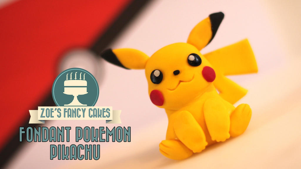 Pikachu Cake Topper Uk