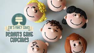 Peanuts Gang Cupcakes Peanuts Movie Tutorial