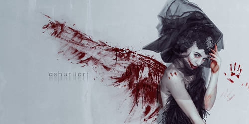 Angel of Death by ashuriiART