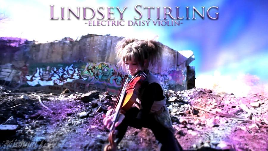 Lindsey Stirling EDV by Lindsey Stirling Crystallize Poster