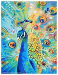 Colorful Peafowl