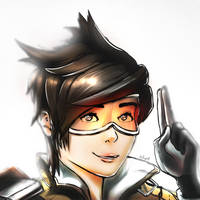 OverWatch_Tracer by thePingdelf
