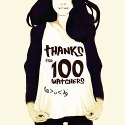 100 Watchers!