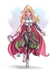 Thor (Jane Foster) by MauroAlbatros