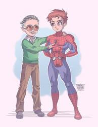 Thank You Stan Lee by MauroAlbatros