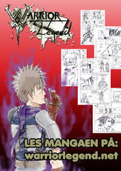 Warrior legend manga promo 2018