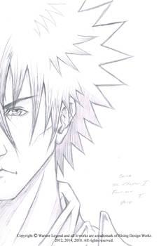 Ozias Front Warrior Legend Manga Artwork