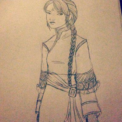 Pencil doodle by CG97