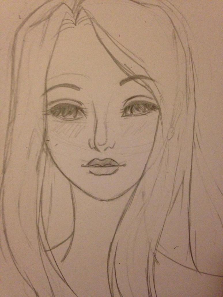 OC Sketch: Tara by GirlWithThePencil