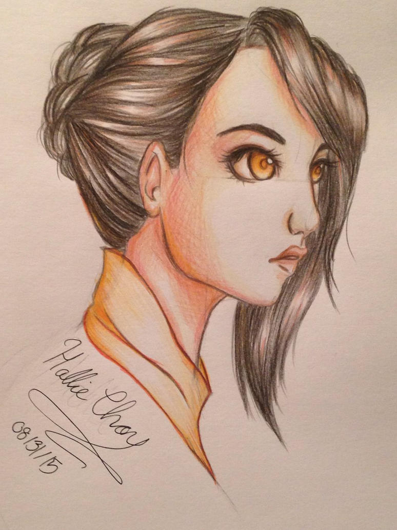 Hunter X Hunter OC: Shiori by GirlWithThePencil