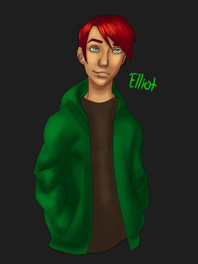 OC: Elliot by GirlWithThePencil
