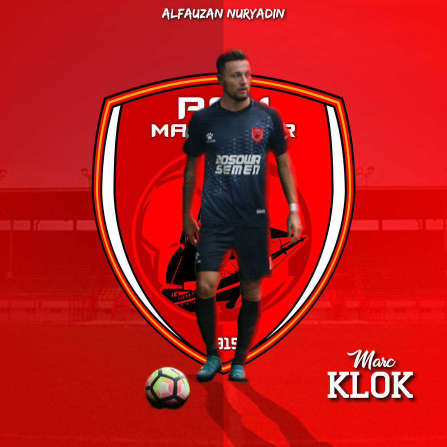 Marc Anthony Klok Psm Makassar  By Alfauzan