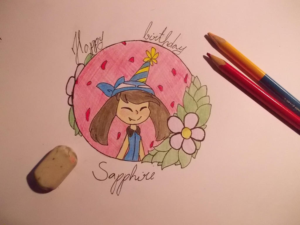 Birthday girl by espegirl12