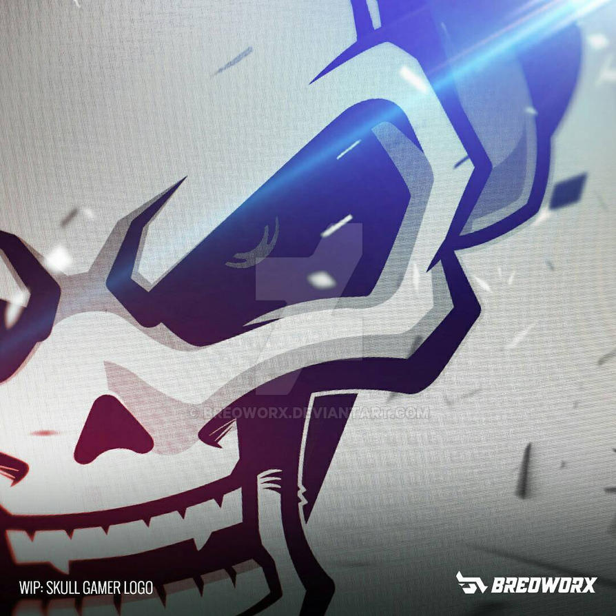 WIP progress: Skull Gamer Vector phase by breoworx on DeviantArt