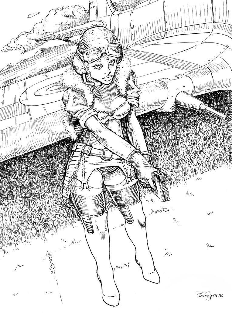 Pilot Femme 5 by PanSpec