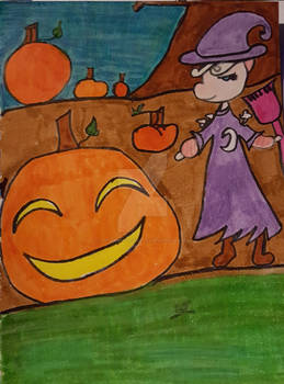 Halloween gift art