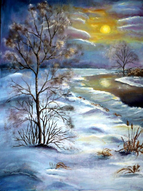 Winter... by Tirliporek