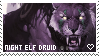 [WoW] - Night Elf Druid stamp by chromesthesis