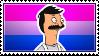 bi bob belcher // stamp by chromesthesis