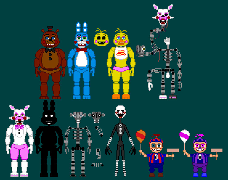 Toy Animatronics V1.1 By TommyProductionsInc On DeviantArt