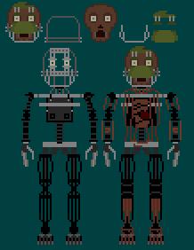 Springtrap Endoskeleton by TommyProductionsInc on DeviantArt