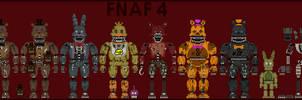 Fnaf 4 Sprites