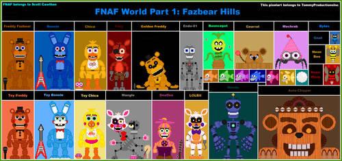FNAF World Part 1: Fazbear Hills by TommyProductionsInc