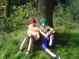 Phineas and Ferb cosplay by AnitaLovesNoodles