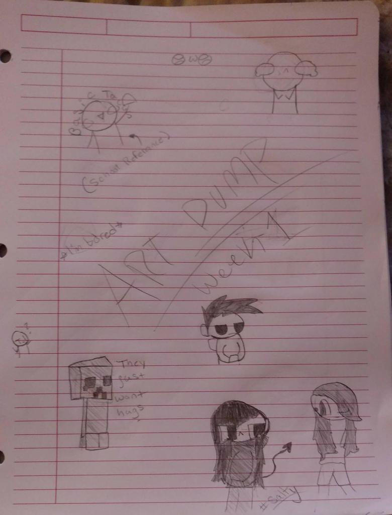 Weekly Art Dump:1 by KidGamer04