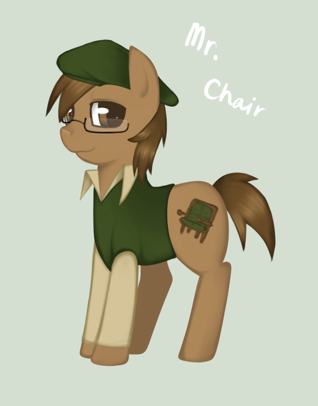 Mr. Chair Pony By Harmpink456 ...