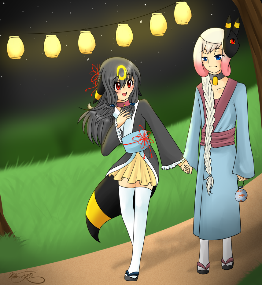 Pokimono:: To the Tanabata Festival by harmpink456