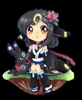 Pkimono:: Sweet girl