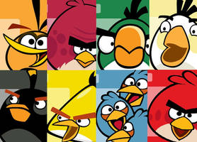 angry birds wallpaper by theladyinred002
