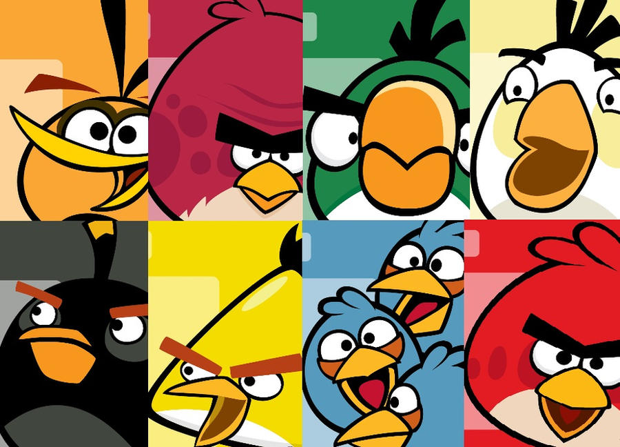 angry birds wallpaper by theladyinred002 ...