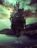 Flying Castle by staples5mm